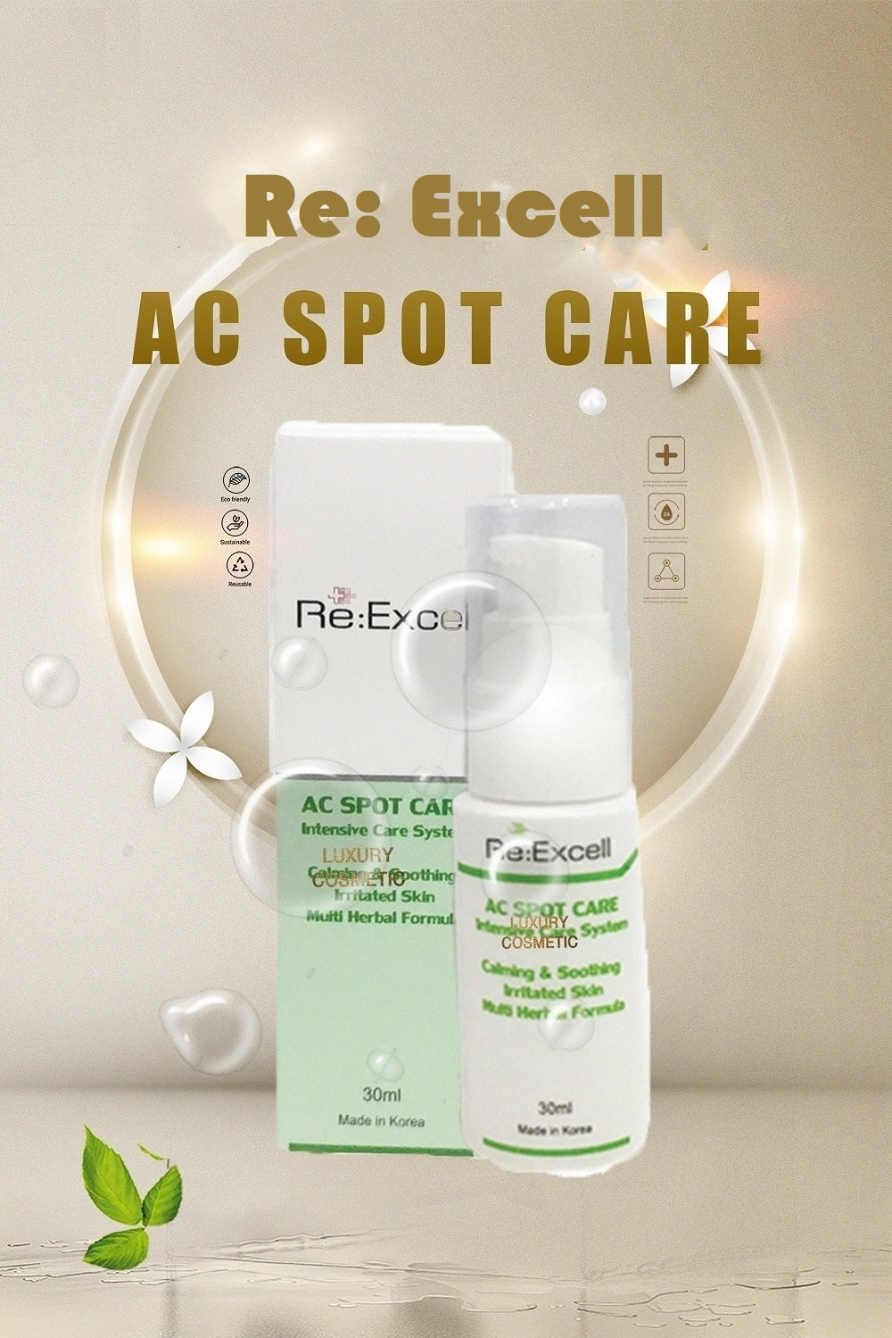 Combo 5 hộp Gel mụn Re:Excell AC Spot Care Hàn Quốc