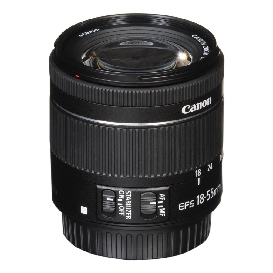 Lens Canon EF-S 18-55mm f/4-5.6 IS STM (Compact) - Hàng Chính Hãng