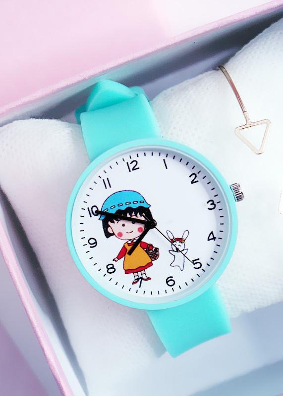 Đồng hồ thời trang nữ dây cao su bé gái Candycat PKHRCAT002 (Đường kính mặt: 36 mm)