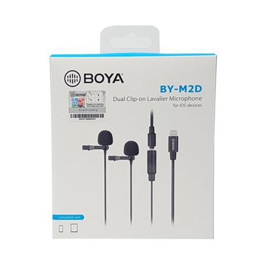 Micro thu âm Boya BY-M2D - Hàng Chính Hãng