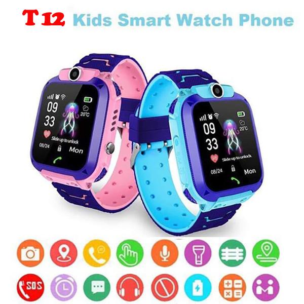 Đồng hồ định vị trẻ em GPS Tuxedo T12-Chính xác thân thiện-Hàng Chính Hãng