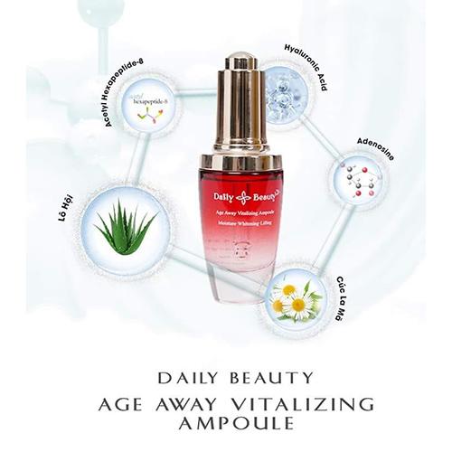 Serum dưỡng da cao cấp Daily Beauty Age Away Vitalizing Ampoule