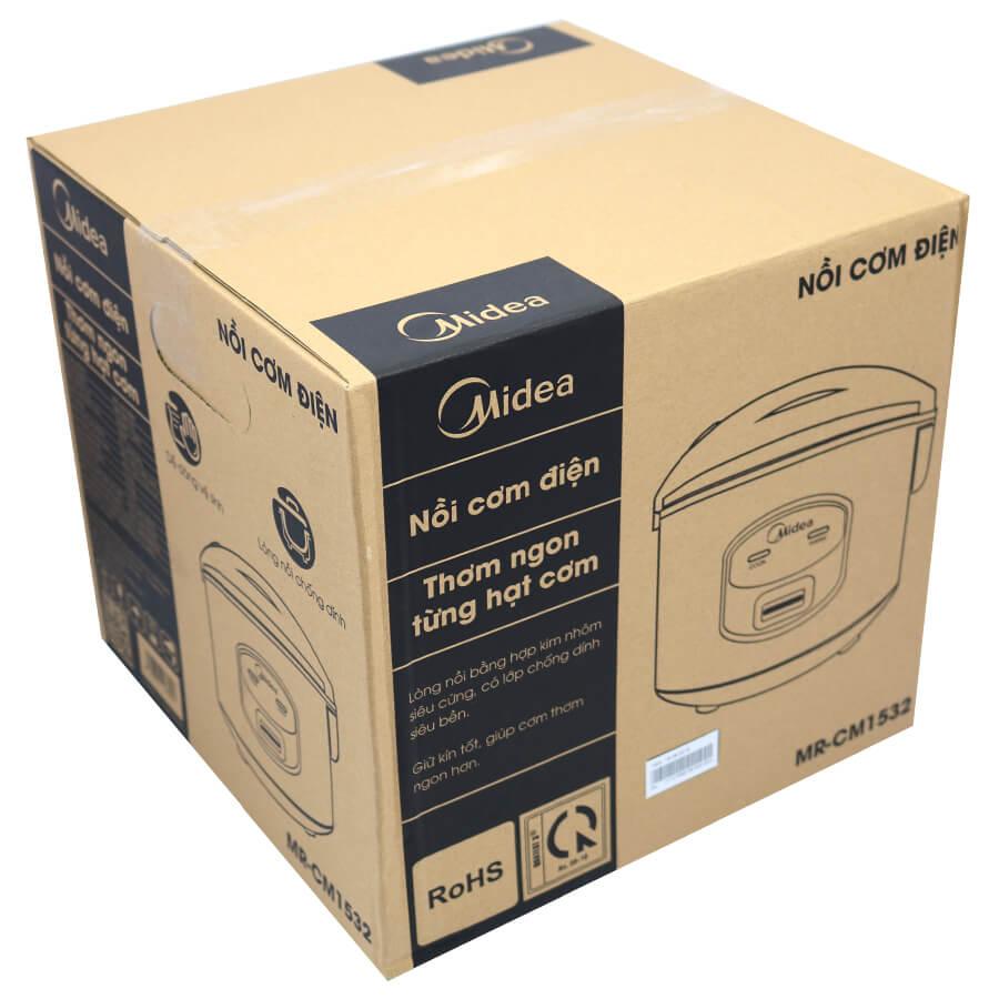 Nồi cơm điện nắp gài Midea MR-CM1532 1.5L 700W - Hàng chính hãng