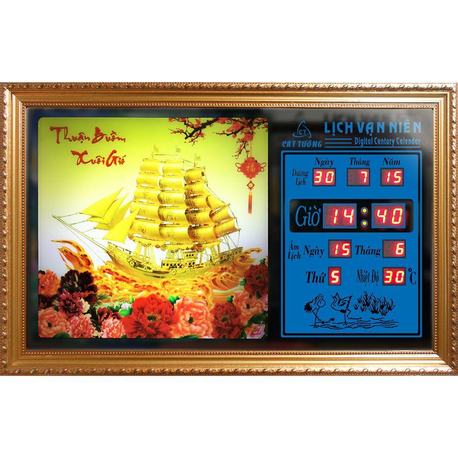 Đồng hồ lịch vạn niên Cát Tường 55437