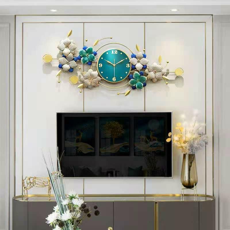 Đồng hồ trang trí Chim Công C903 Đồng hồ treo tường chim công Đồng hồ Khổng Tước