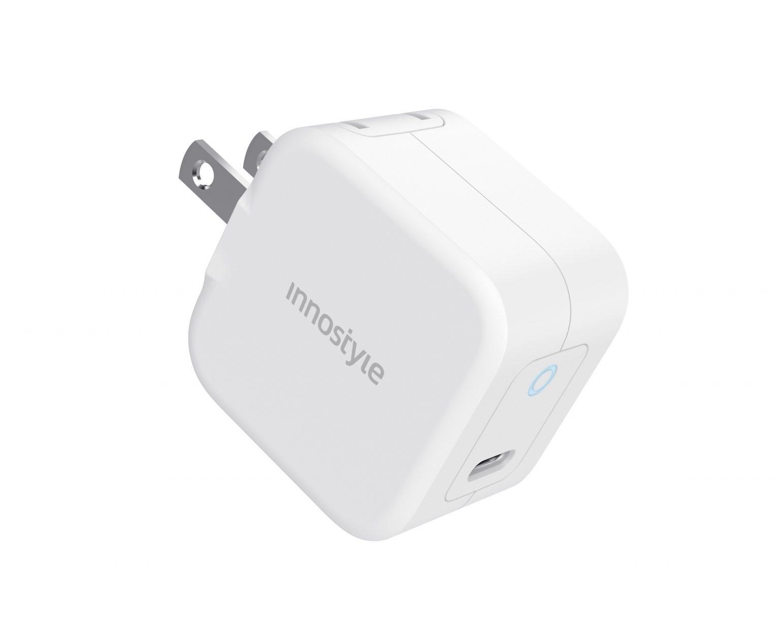 SẠC NHANH INNOSTYLE USB-C PD 20W MINIGO III WHITE - Hàng Chính Hãng - IC20PDWHI
