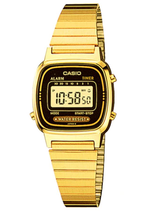 Đồng hồ nữ dây kim loại Casio LA670WGA-1DF