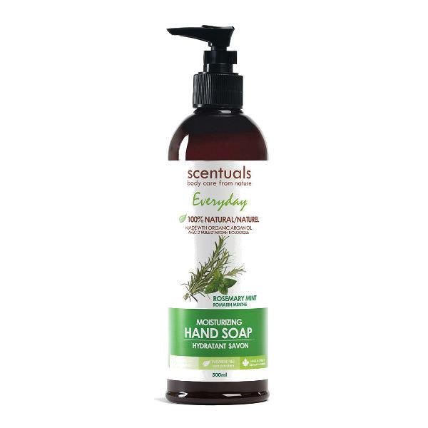 Dung Dịch Rửa Tay Hương Thảo Bạc Hà Everyday Rosemary Mint Moisturizing Hand Soap Scentuals (500ml)