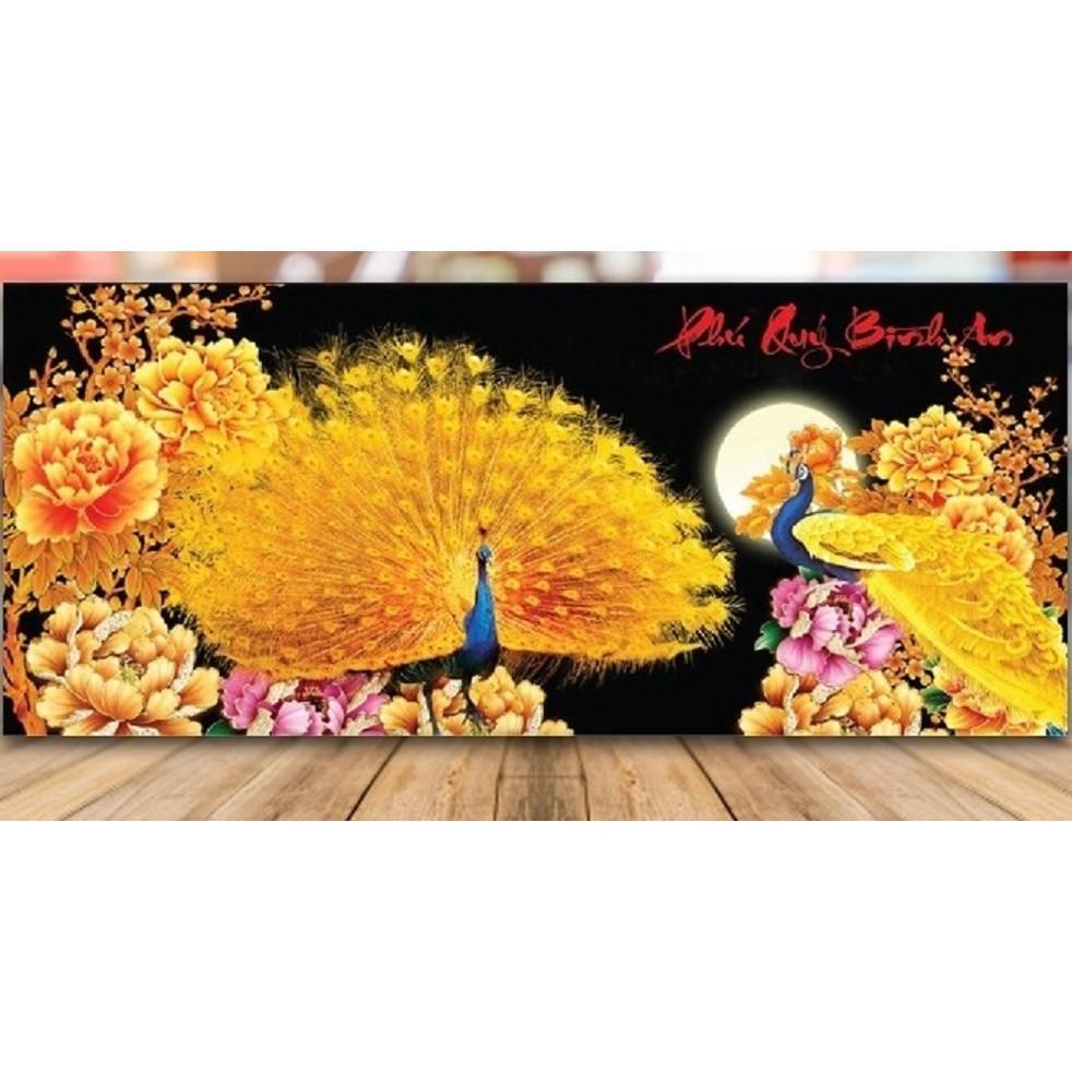 Tranh thêu Phú quý bình an - LV3101