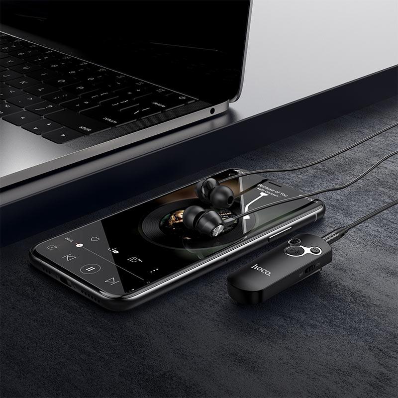 Tai nghe bluetooth Hoco E52 Euphony with wireless audio receiver BT v5.0 (Hàng chính hãng)