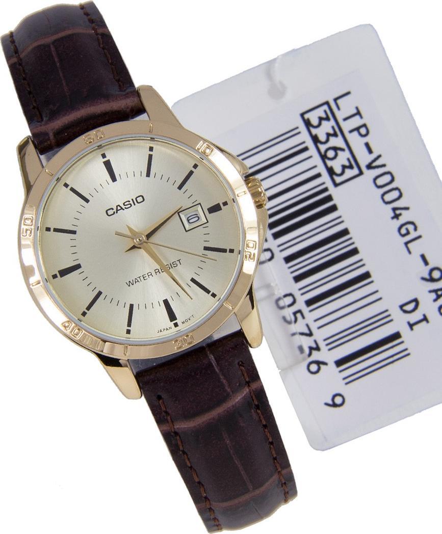 Đồng hồ nữ dây da Casio LTP-V004GL-9AUDF