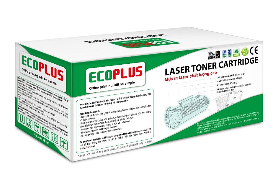 Mực In laser màu đen EcoPlus CF400A (Hàng chính hãng)