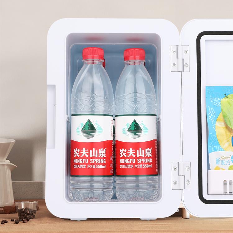 Tủ lạnh đựng mỹ phẩm, thực phẩm 8l (giao màu ngẫu nhiên), trên ô tô và trong phòng