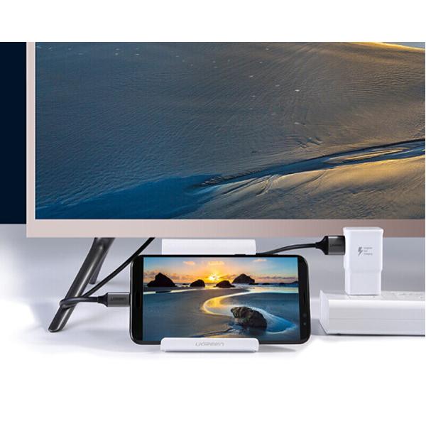 Cáp chuyển USB Type C to HDMI dài 1,5m hỗ trợ 4K2K@60Hz Ugreen 50544 chính hãng
