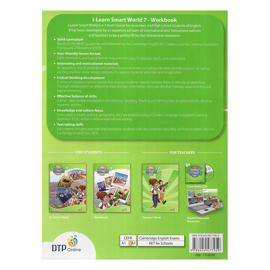 i-Learn Smart World 7 Workbook