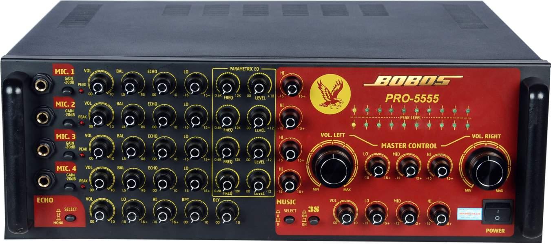Amply Karaoke BOBOS PRO-5555 (Hàng chính hãng)