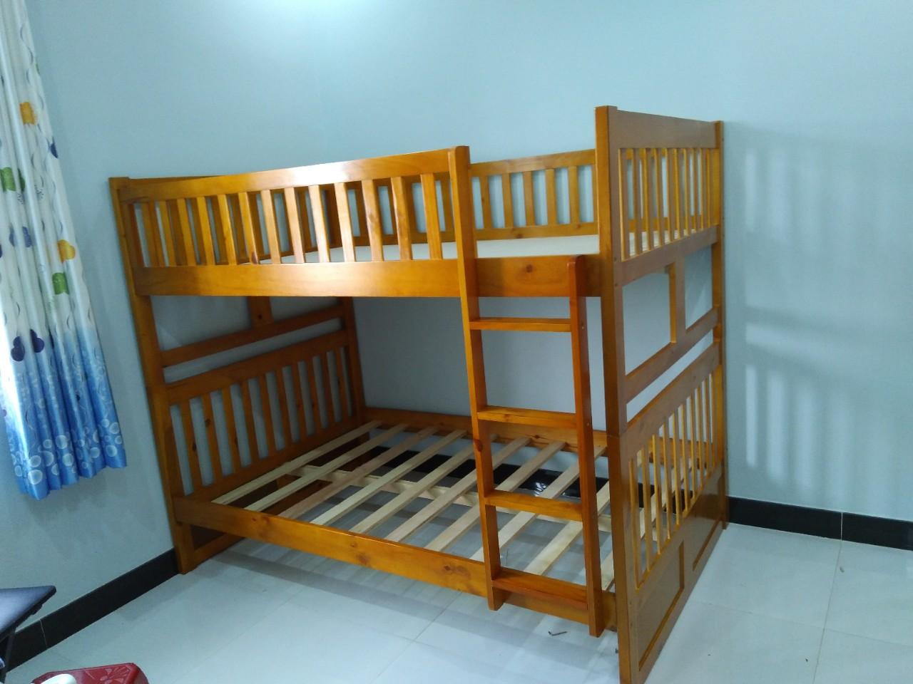 Giường Tầng UNI013(1m2)-OAK