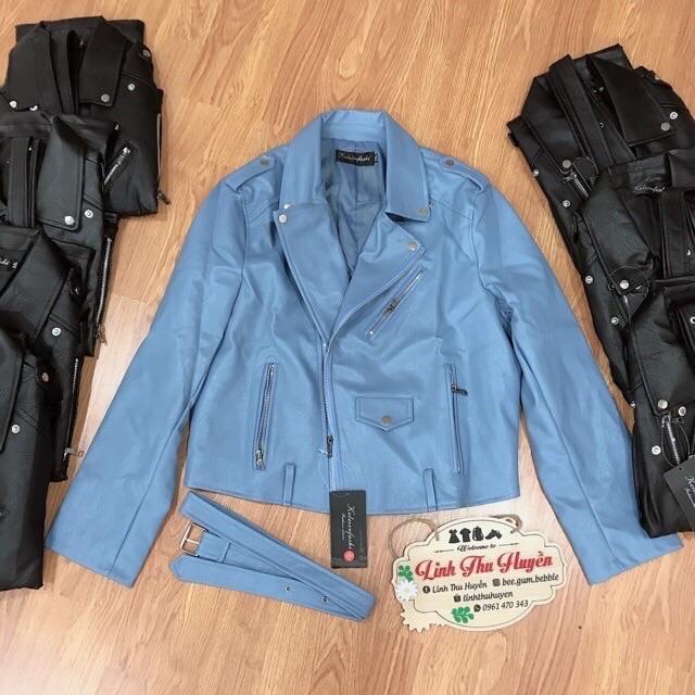 Áo khoác da Quảng Châu nam nữ thời trang thu đông