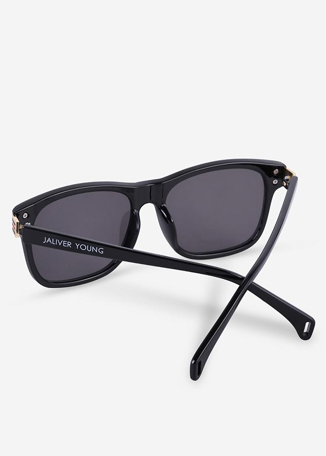 Mắt kính mát nam nữ vuông gọng kính nhựa trang trí viền UV400 Jaliver Young SP-1180