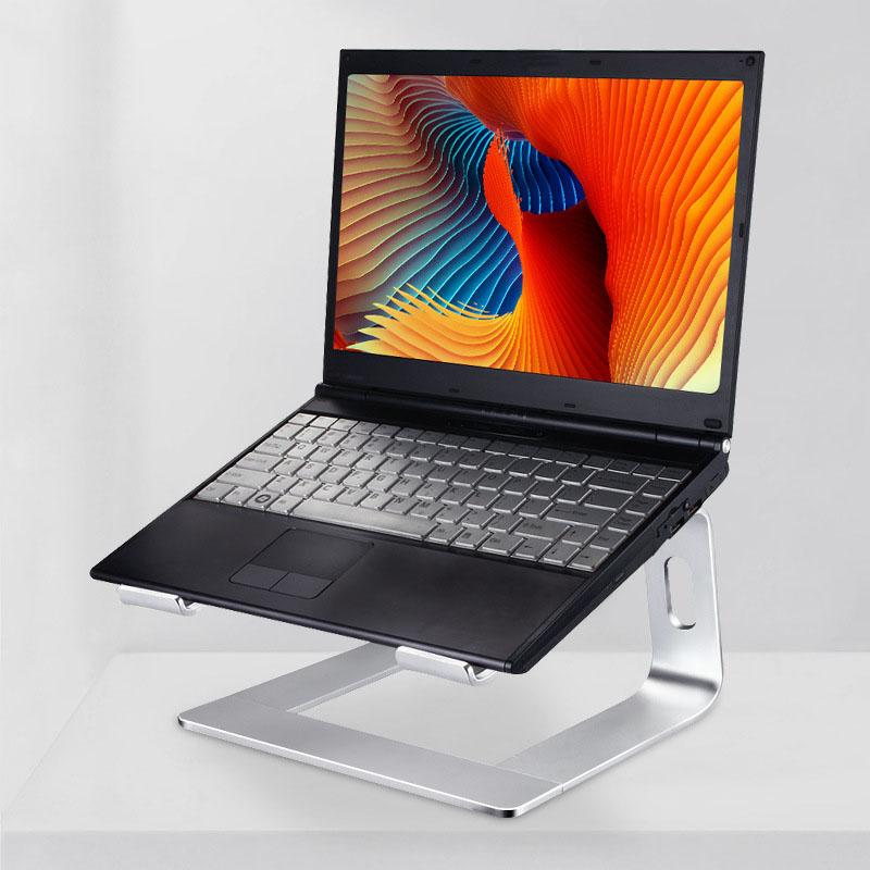 Giá Đỡ Laptop Macbook Nhôm Tháo Lắp Gọn Nhẹ - Bạc