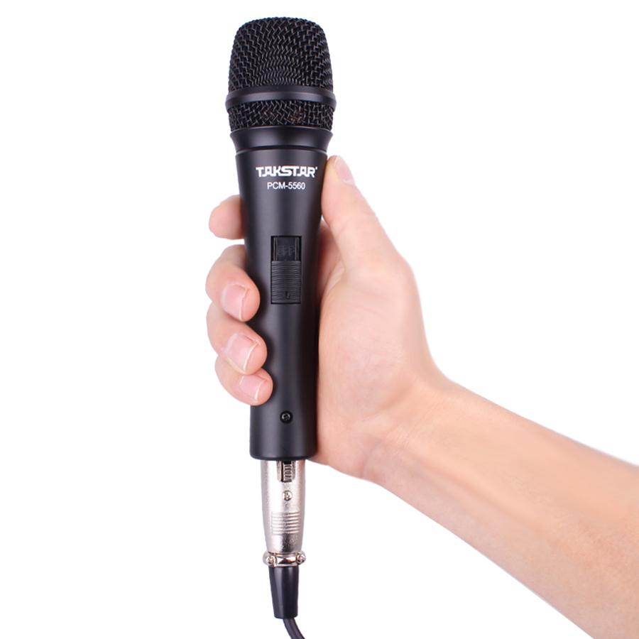 Micro Hát Karaoke Online Takstar PCM-5560  - Hàng Chính Hãng