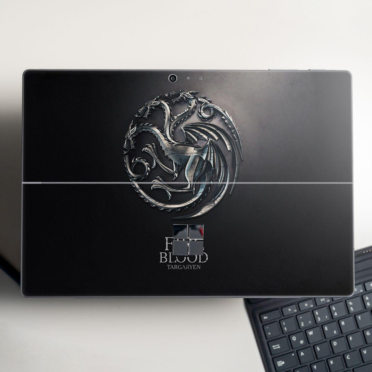 Skin dán hình Game of Thrones cho Surface Go, Pro 2, Pro 3, Pro 4, Pro 5, Pro 6, Pro 7, Pro X - Mã: gotl21 - Surface Pro X