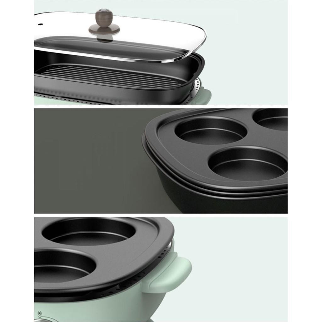 Bếp điện lẩu và nướng đa dụng Boar DKL - D12Z4