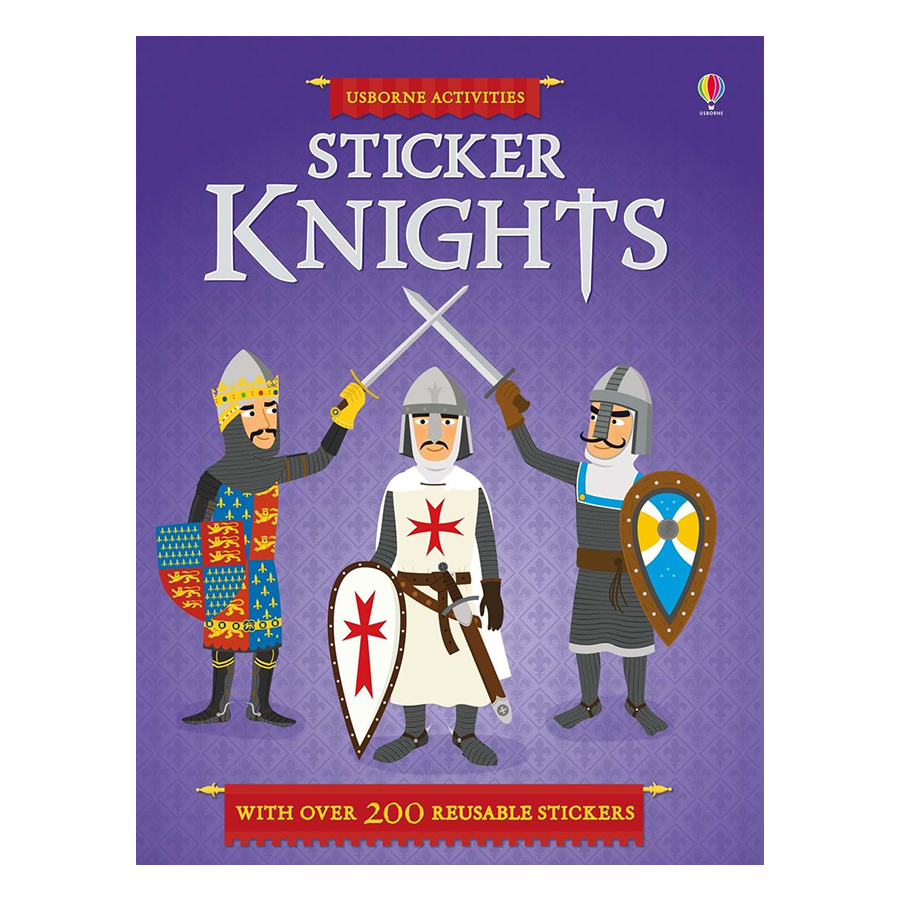 Usborne Sticker Knights