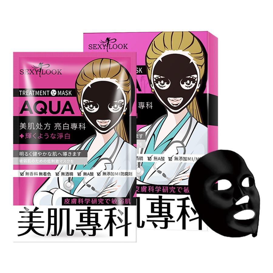 Mặt nạ đen SEXYLOOK Aqua [TRẮNG SÁNG] – Đài Loan (28ml x 4 miếng)
