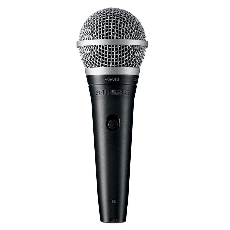Micro Có Dây Cầm Tay Shure PGA48-QTR Vocal Microphone Karaoke Mic Hàng Chính Hãng USA - Kèm Móng Gẩy DreamMaker