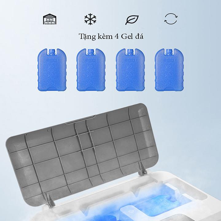 quạt điều hòa hơi nước mẫu siêu to 60L tặng Gel đá khô cao cấp D0650