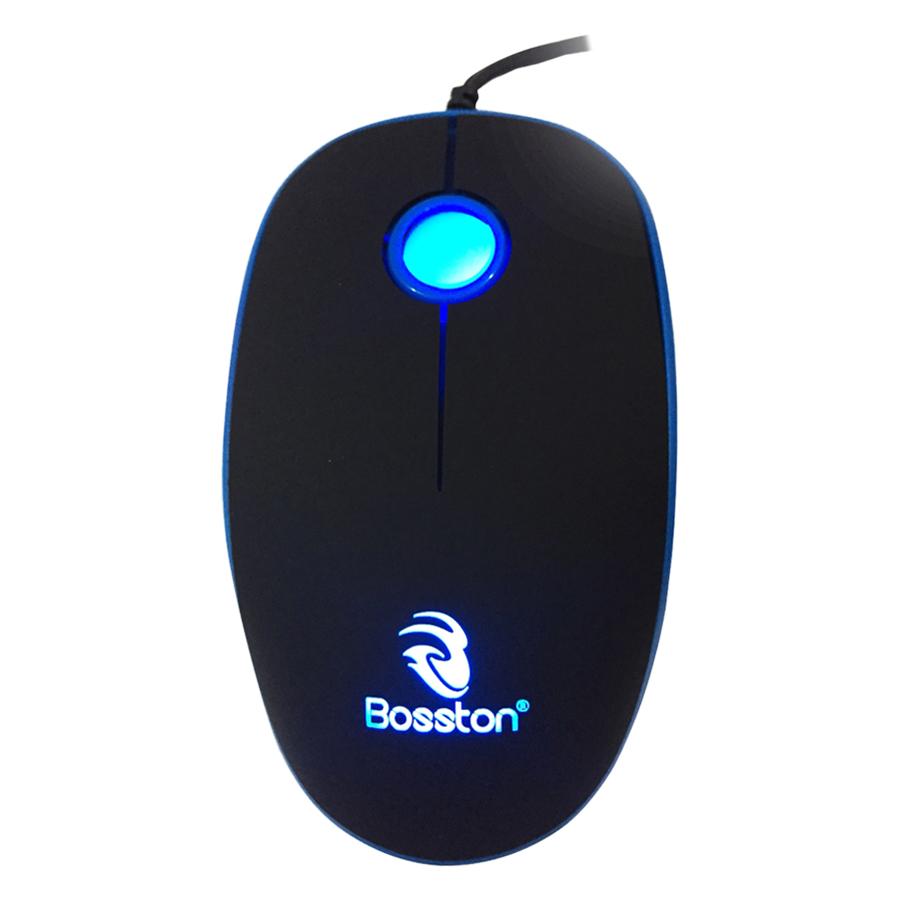 Chuột Có Dây Bosston X15 1200DPI - Hàng Chính Hãng