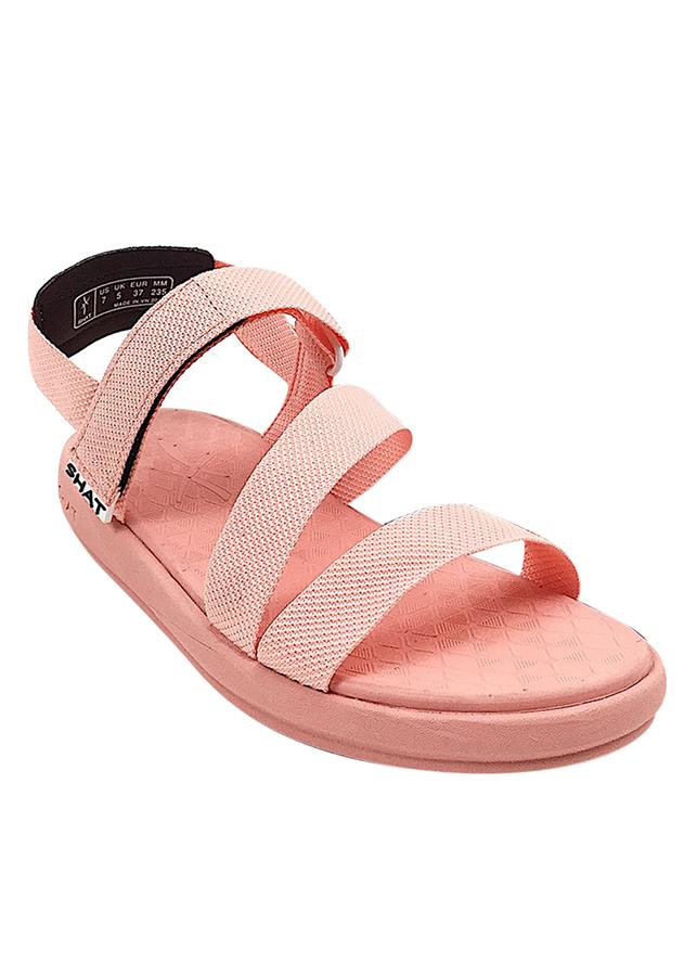 Giày Sandal Nữ SHAT F5M005 - Hồng Đào