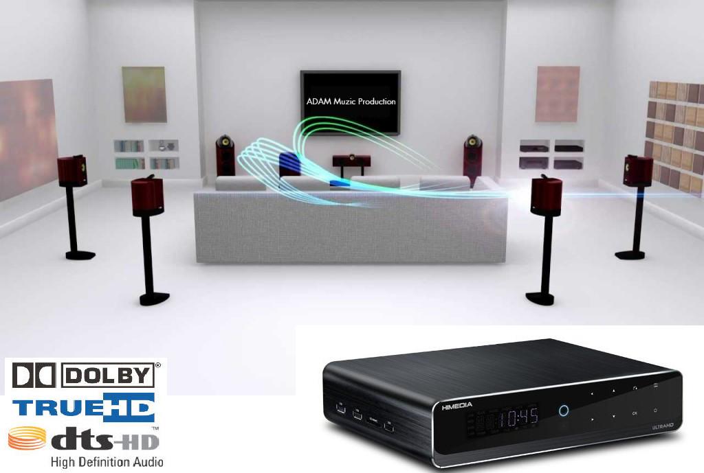 Himedia Q10 Pro Bản mới  Tặng Chuột Bay KM800, Tài khoản HDplay Vip , Android 7 & Nougat - Giải mã ÂM THANH - PHIM CAO CẤP - HÀNG CHÍNH HÃNG