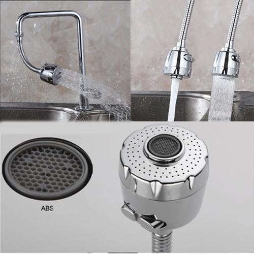 Đầu vòi rửa tăng áp dây dài với 2 chế độ nước BY9032