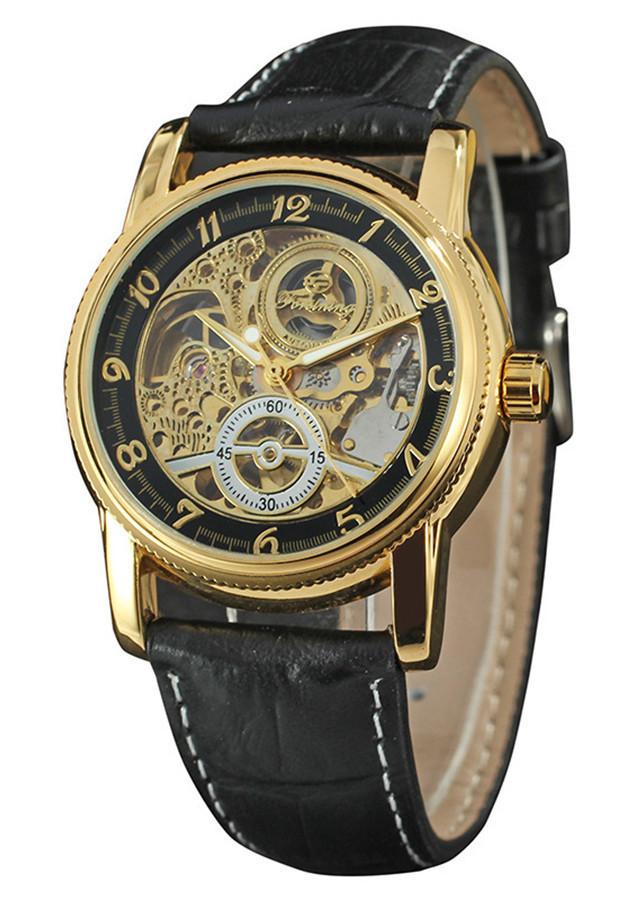 Đồng hồ nam máy cơ Forsining H289M dây da - Fullbox chính hãng