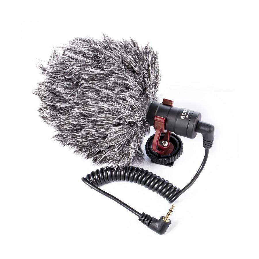 Microphone Phỏng Vấn Cao Cấp Chuyên Nghiệp BY-MM1 AZONE