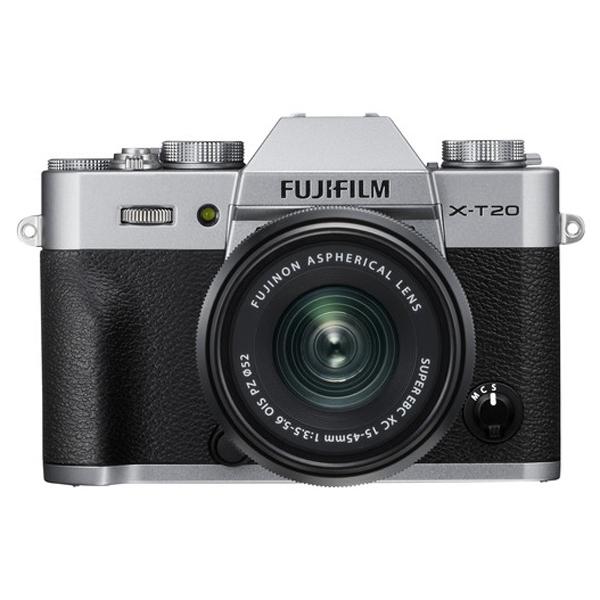 Máy Ảnh Fujifilm X-T20 (24.3MP) + Lens 15-45mm - Hàng Chính Hãng