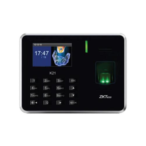 Máy chấm công vân tay và thẻ ZKTECO K21 -Hàng nhập khẩu