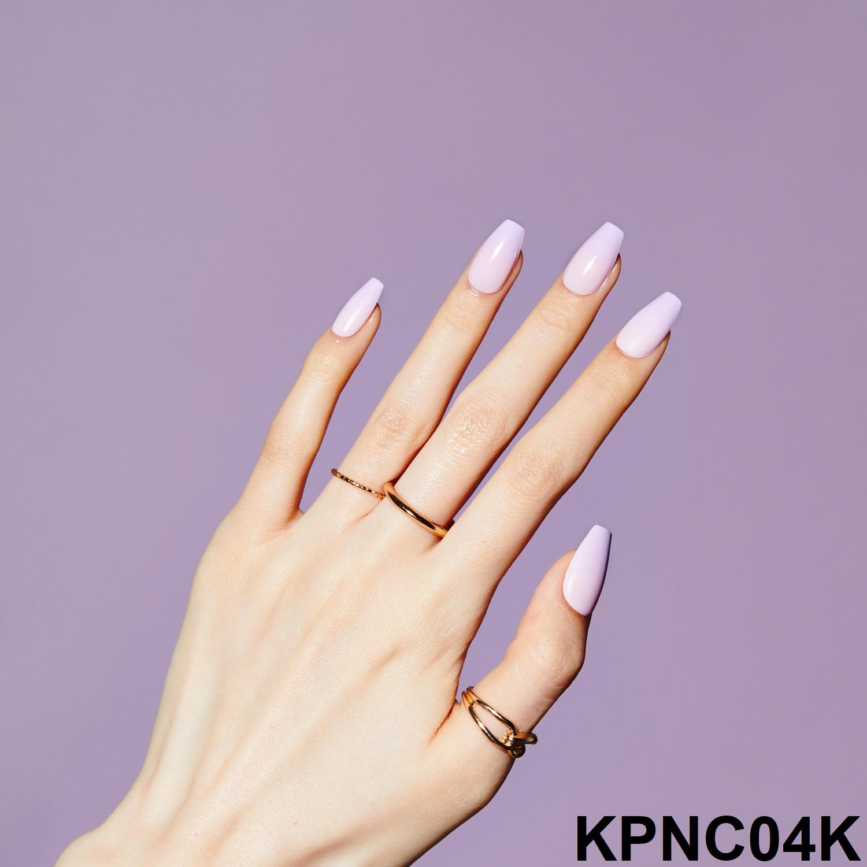 Bộ 30 Móng Tay Gel Dán Press & Go Kiss New York Nail Box - Cherry Berry (KPNC04K)