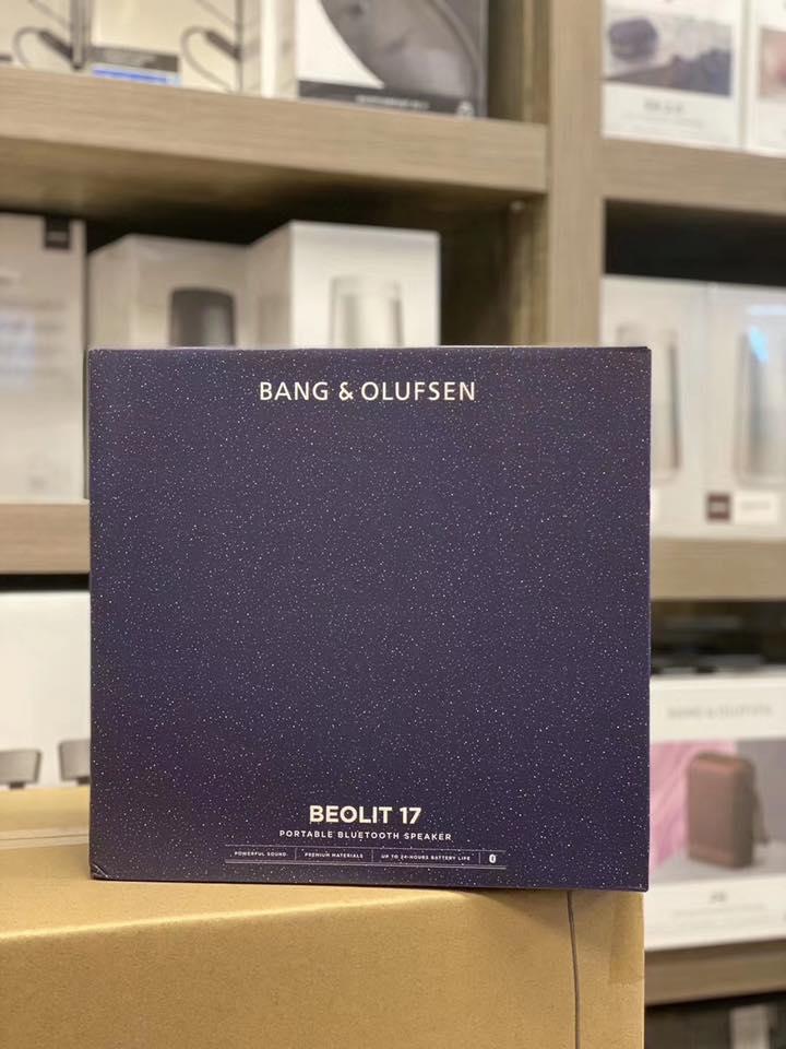 Loa di động cao cấp Bang&Olufsen Beolit 17   - Hàng Nhập Khẩu  - Màu Standust Blue