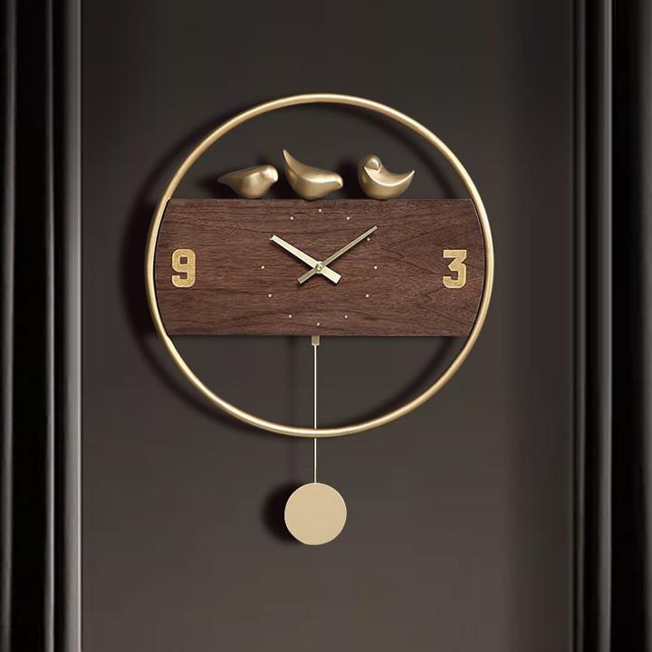Đồng hồ treo tường quả lắc, đồng hồ treo tường, đồng hồ quả lắc DH-DH0002