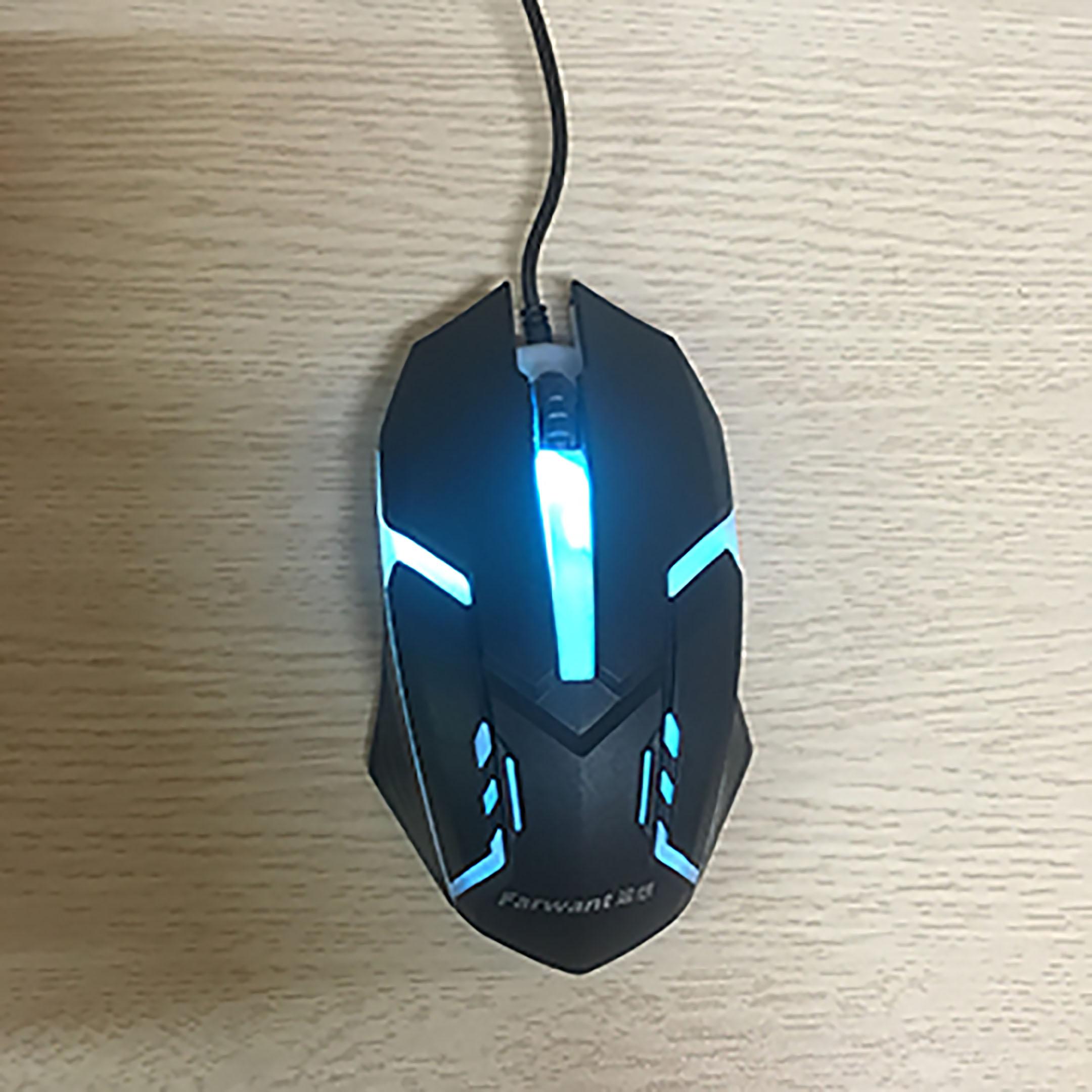 Chuột chơi game có dây G3PRO thiết kế độc đáo, DPI tùy chỉnh, LED 7màu