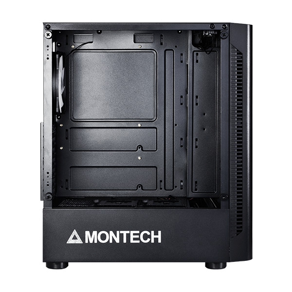 Case - Thùng Máy Tính Montech X1 Black - Hàng Chính Hãng