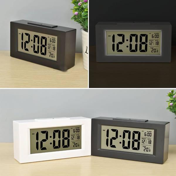 Đồng hồ báo thức cảm biến phát sáng trong đêm v4