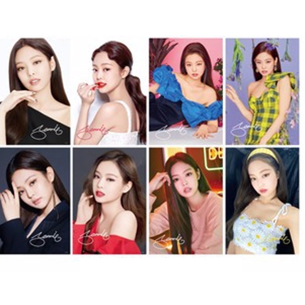 Bộ ảnh Poster Blackpink Jennie 8 tấm A3