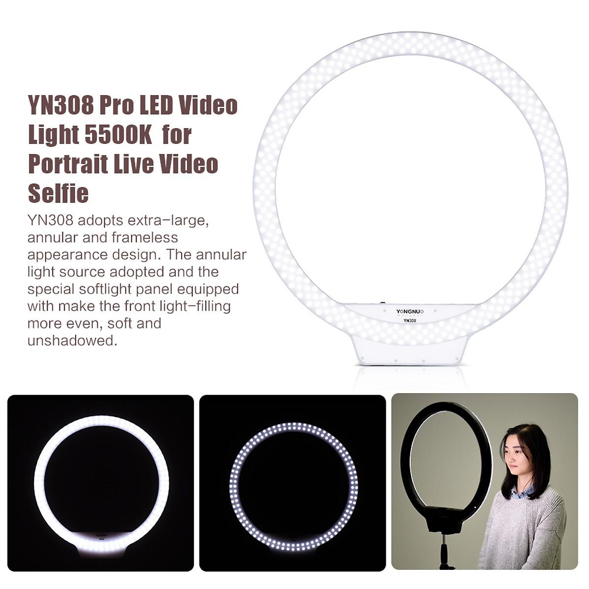 LED Ring Yongnuo YN308 - Hàng Nhập Khẩu