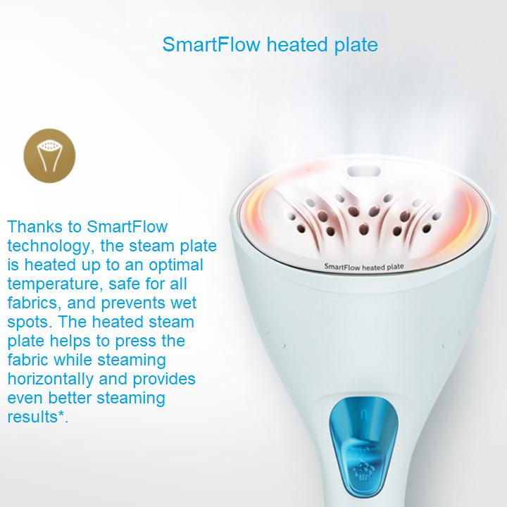 Bàn là (ủi) hơi nước cầm tay thương hiệu Philips GC361 Công suất 1200W - Nhỏ gọn tiện lợi mang du lịch - Hàng Nhập Khẩu