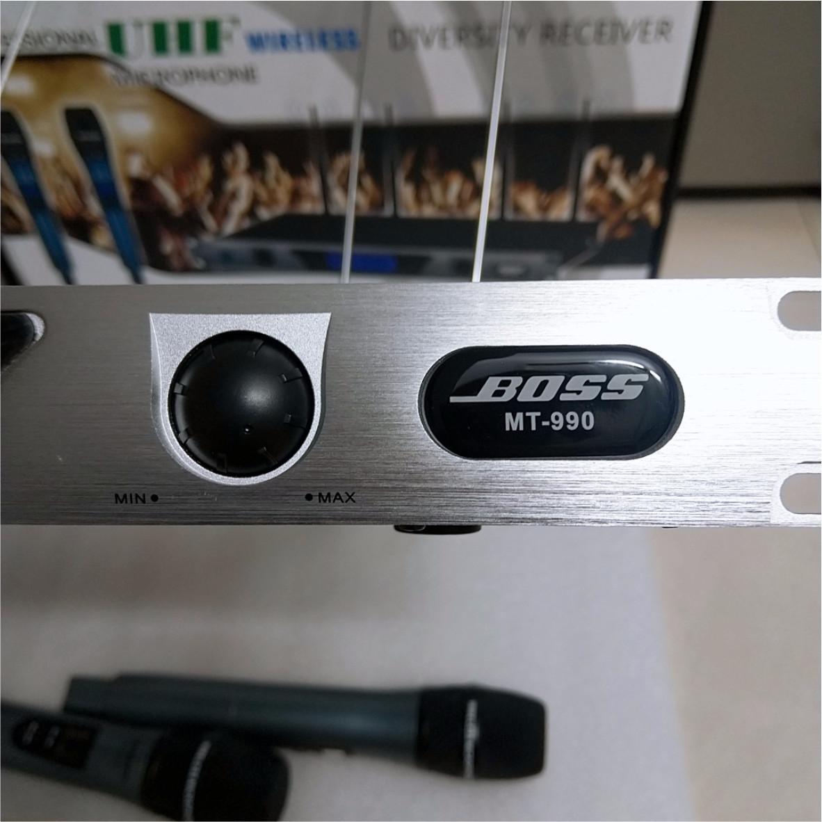 Micro Boss MT-990 Không Dây UHF- Hàng Nhập Khẩu