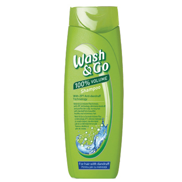 Dầu gội ngừa gàu ZPT Anti-dandruff Wash&Go 200ml + Móc khóa
